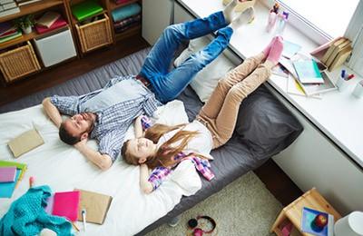 Adolescentes y niños